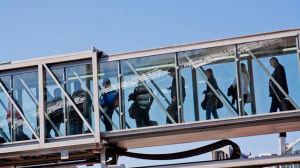 """Strajk włoski na lotnisku.[br] """"Warto przyjechać wcześniej"""""""