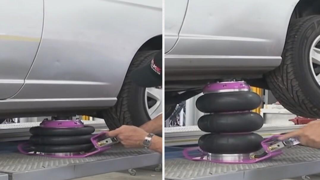 Balony, które podniosą samochód