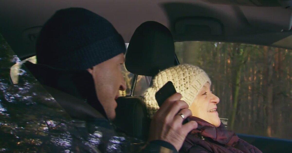 Babcia Bronia i Wojtek mają wypadek samochodowy!