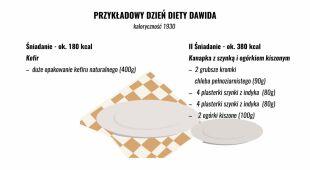 Przykładowe posiłki zbilansowanej diety