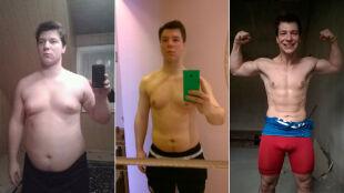 """Schudł 25 kg w 8 miesięcy. """"Na zdjęciach ciężko było uchwycić cokolwiek poza brzuchem"""""""