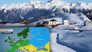 Jest amerykańska prognoza pogody na zimę dla Europy