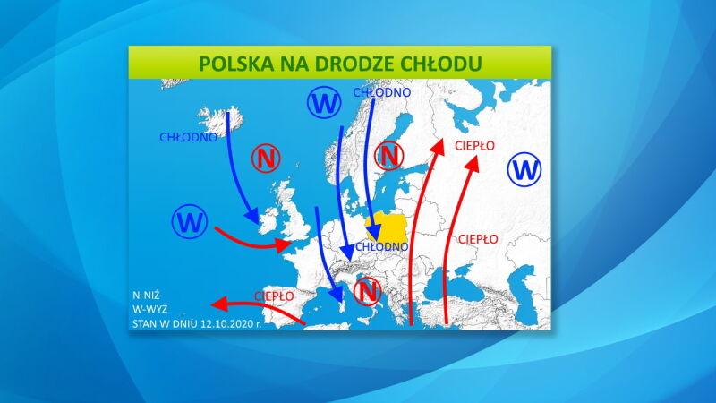 Polska na drodze chłodu