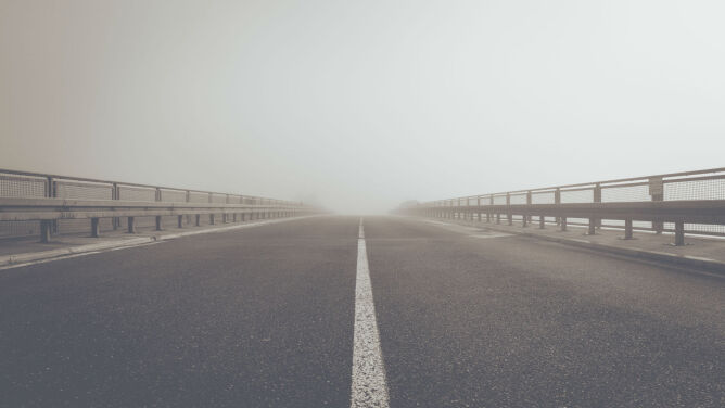 Mgły mogą utrudnić podróżowanie