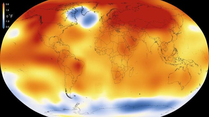 Rekordowo gorący 2015 rok może okazać się nową normą przez najbliższe 10 lat