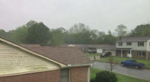 Izajasz niesie ulewny deszcz