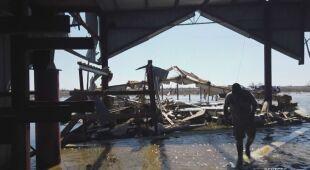 Ogromne zniszczenia w Stanach Zjednoczonych po przejściu huraganu Delta