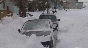 Spod śniegu nie widać nawet ulic